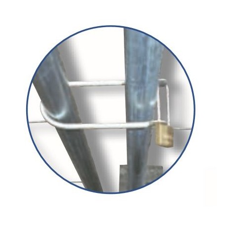 Schake Stacheldrahthalter in Y-Form