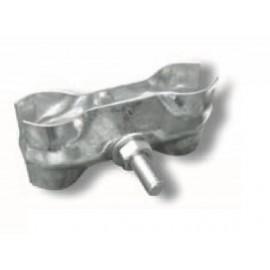 Schake Verbindungsschelle,verzinkt, 5,0 mm Blechstärke