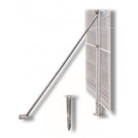 Schake Mobilzaun-Stützstrebe für 2,00 m Bauzaun