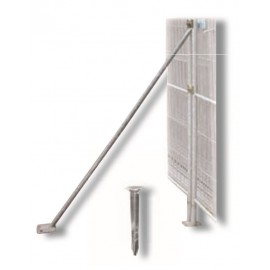 Schake Mobilzaun-Stützstrebe für 1,20 m Bauzaun