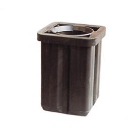 Schake Rohrschuh aus Kunststoff für Schaftrohr Ø 42 mm