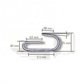 Schake Haken, Sicherung für Faltgerüstböcke, verzinkt