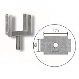 Schake Kopf für Schalungsstützen Typ Standard, Ø 26,9 mm oder Ø 38,0 mm