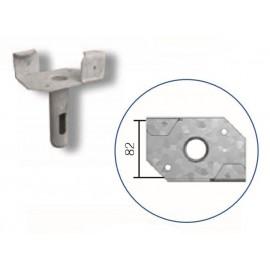 Schake Haltekopf für Schalungsstützen, Ø 38,0 mm