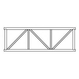 Altrex Gitterträger Prof für Plattformlängen von 185 cm, 245 cm, 305 cm der RS TOWER 5er Serie