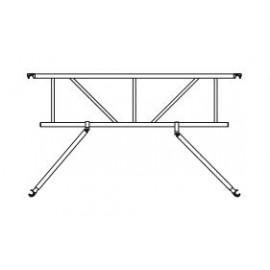 Altrex Safe-Quick® 2 Guardrail Prof für Plattformlängen von 185 cm, 245 cm, 305 cm der RS TOWER 5er Serie