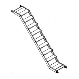 Altrex Fahrgerüsttreppe für RS TOWER 53 für Plattformlänge 1,85 m und 2,45 m