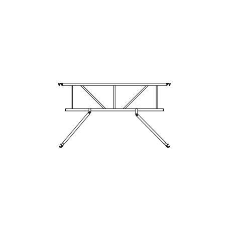 Altrex Safe-Quick® GuardRail für Plattformlängen von 185 cm, 245 cm, 305 cm der RS TOWER 5er Serie