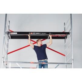 Altrex Plattform mit Luke 185 cm, 245 cm, Holzbelag für RS TOWER 4er Serie