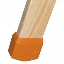 Layher Leiternschuh für Holzleiter zur Selbstmontage