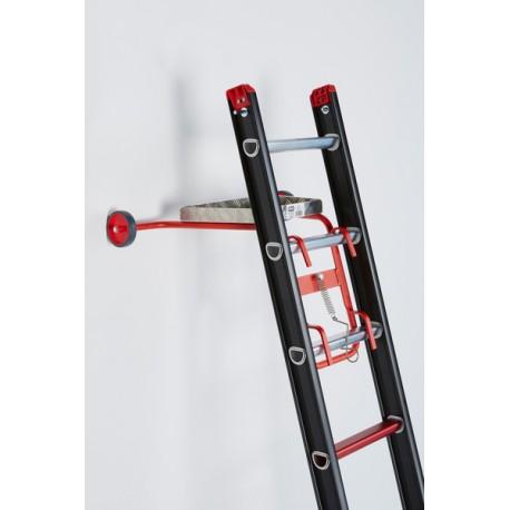 Altrex Wandabstandhalter mit Wandlaufrollen und Werkzeugablage