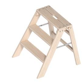 Layher Klappbarer Holzstufentritt 1055