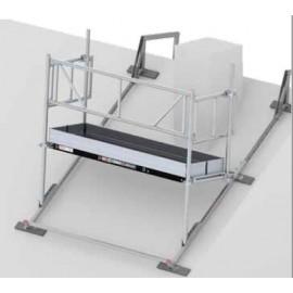 Altrex Kamingerüst, Breite: 0,75 m, Länge: 1,85 m, 2,45 m, 3,05 m - Fiber-Deck Belag
