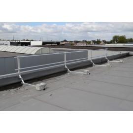 ASC Winkelstück (50x50 cm) für Dachrandsicherung
