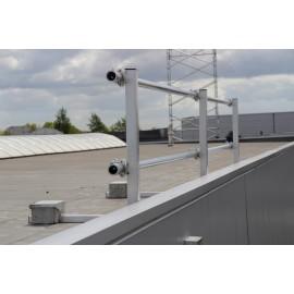 ASC Geländer (3 m) für Dachrandsicherung
