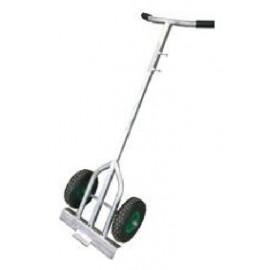 Schake Fußplattentrolley Trolley mit Luftbereifung