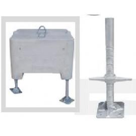 Schake Höhenausgleicher für Beton-Aufstellvorrichtung