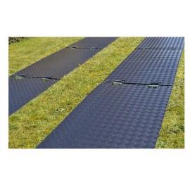 LuxTek Flex Bodenschutzplatten aus Kunststoff, mit Struktur
