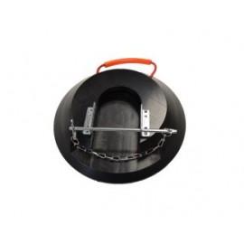 LuxTek Stützfußarretierung aus Stahl, galvanisch verzinkt