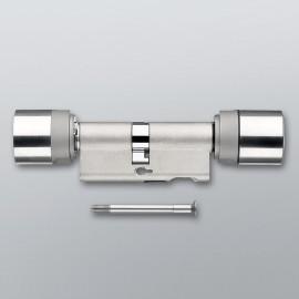 SimonsVoss - digitaler Europrofil Doppelknaufzylinder - DoorMonitoring - MobileKey