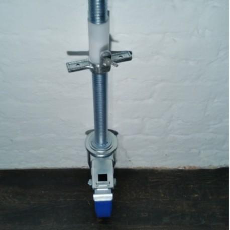 Gerüstrolle 200 mm mit Stahlspindel