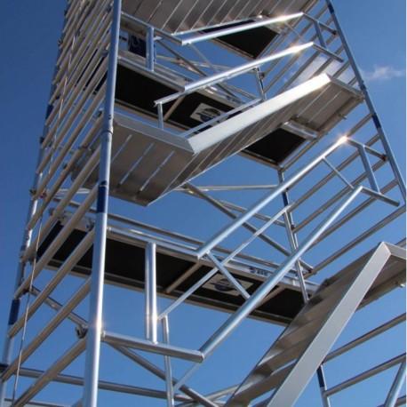 ASC Treppengerüst mit Schrägtreppen