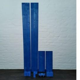 ASC Bordbrettset Holz 135-190 inkl. 4 Kunststoffhalter