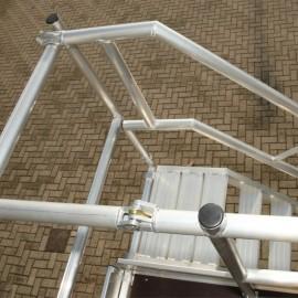 ASC Geländer f. Gerüsttreppe 250 Außenseite doppelt