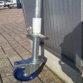 ASC Gerüstrad 150 mm mit Stahlspindel