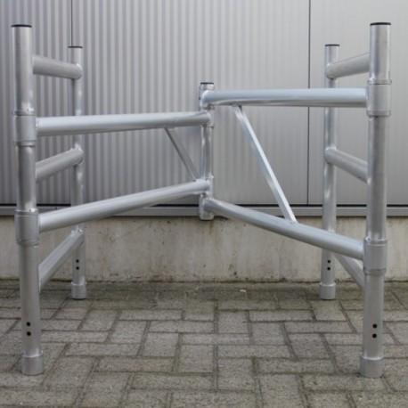 ASC Klappgerüst Aufsteck Geländerrahmen 3 sprossig