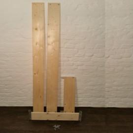 ASC Bordbrettsatz Basic-Line Holz 75-190 mit Aluminiumhaltern