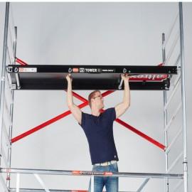 Altrex Plattform mit Luke 185 cm, 245 cm, 305 cm, Holzbelag für RS TOWER 5er Serie
