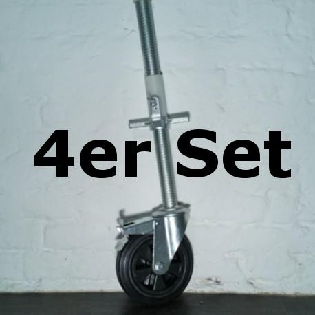 ASC Rad + Alu Spindel DR RUBBER 275 kg (gummiert)