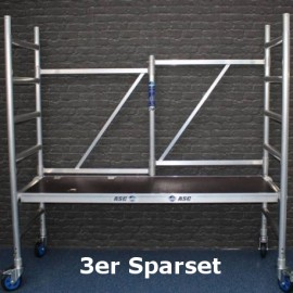 "ASC 3er-Sparset Klappgerüst / Zimmergerüst ""Premium"", 3,00 m Arbeitshöhe, 3er-Sparset"