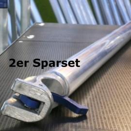 ASC Horizontalstrebe für Gerüste mit 190 cm, 250 cm und 305 cm Plattformlänge im 2er-Sparset