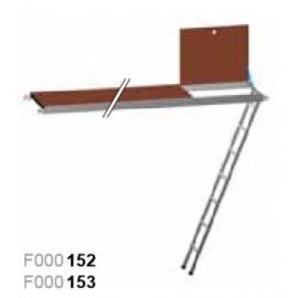 Ernst Plattformen mit Siebdruck-Holzbelag oder Alu Riffelblech mit Integrierter Treppe
