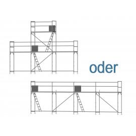 ERNST Giebelgerüst mini xtra - 2,5 m Felder