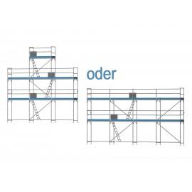 ERNST Giebelgerüst mini - 2,5 m Felder