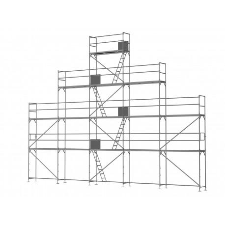 ERNST Giebelgerüst groß - 2,5 m Felder
