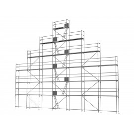 ERNST Giebelgerüst maxi xtra - 2,5 m Felder, 0,80 m breit