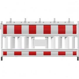 Schake-Euro1-Schrankenzaun, Typ BASIC, 2 m, Folie Typ 1