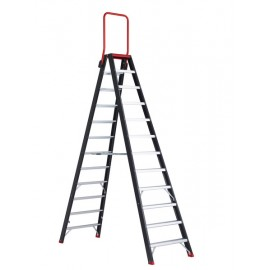 Altrex Taurus, beidseitig begehbare Stufenleiter mit Sicherungsbügel