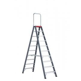 Altrex Falco, beidseitig begehbare Stufenleiter mit Sicherungsbügel (FDO)