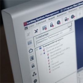 Programmierung (Software) von SimonsVoss